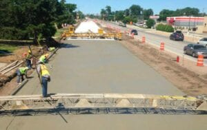 Concrete paving through Sterling, CO