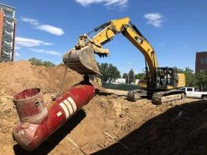 University Colorado Hospital Tower Excavation