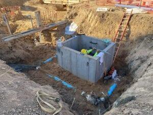 University Colorado Hospital Tower Utility installation